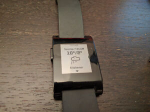 Pebble smartwatch Gen 1, with a small problem Kitchener / Waterloo Kitchener Area image 3