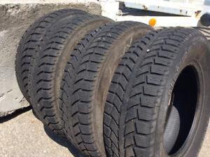 195/70R14 Uniroyal Winter Tires