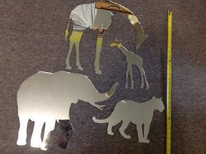 Miroirs en forme d'animaux