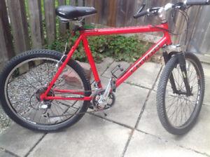 Mans Mtn bike, 26 inch wheels, 21 speed. A quality bike