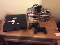 Ps3 160gb with games