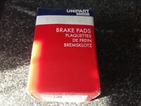 Unipart disc brake pads for Ford Fiesta / Ka or Mazda 121
