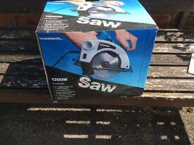 Electric Circular Saw never used in its original box