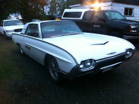 1963 Thunderbird- Price Reduced $1300 Must Sell ASAP