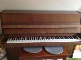 Upright Petrof Piano