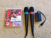 SingStar bundle PS3