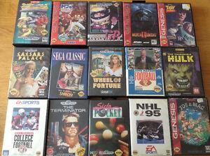 Sega genesis games!!