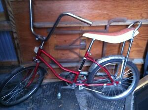 Original banana seat bike for sale