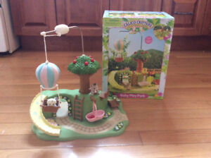 Calico Critters Baby Play Park Mint Condition with Box