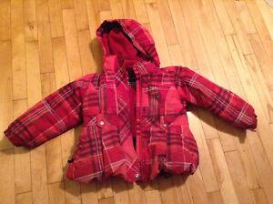 Manteau hiver fille 5 ans