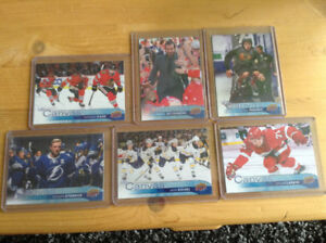 REDUCED PRICE: 16-17 UD Canvas hockey cards