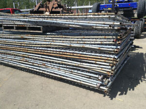 350' CONSTRUCTION FENCE CHAIN LINK PANELS READY TO GO
