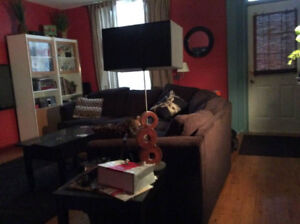 L Shaped Couch 1 year old Moving sale