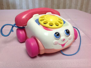 Pink Fisher Price Chatter Phone $5