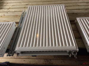 3 Hot Water Radiant Panels