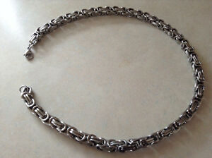 Men's 20 inch Stainless Steel Necklace