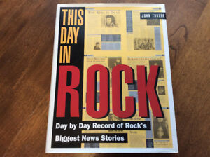 This Day in Rock - Hardcover Book