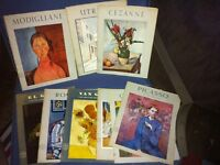 Lot of 9 1950's Art Books