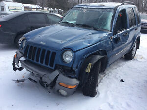Jeep Liberty 2004 - Pour pièces - For parts