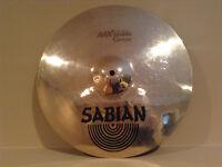 15 inch Sabian AAX Studio crash NEW PRICE