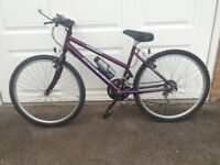 Woman's Raleigh Ogre 15 Max mountain bike as new