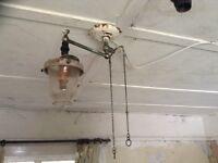 Antique gas light
