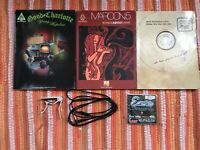 3 x great guitar tab books & capo,strings and cable