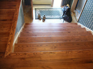 Hardwood Floor Refinishing, Staircase and Railing Refinishing London Ontario image 5