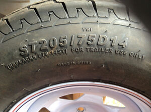 New Trailer Tire And Rim   REDUCED