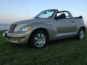 2005 PT CRUISER CONVERTIBLE (SELL OR TRADE)