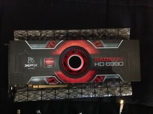 XFX AMD HD 6990 Dual GPU Video card