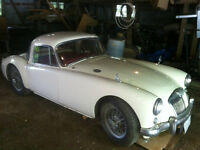 1957 MGA Coupe for Sale