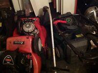 Job lot petrol tools