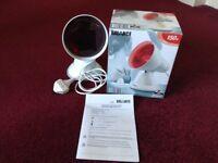 Balance infrared heat lamp health and beauty 150 watt