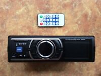 Stereo radio CD player for car