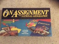On Assignment with National Geographic board game