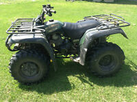 Yamaha Big Bear 350 4x4 4Wheeler
