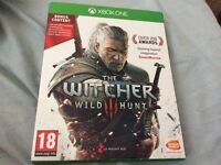 The Witcher Wild hunt Limited edition