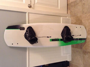 2012 Ronix Ramp 1.0 Wakeboard with boots