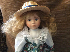 Beautiful Porcelain Doll That Resembles Anne of Green Gables