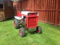Tractor garden type late 1960's