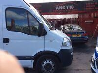 Vauxhall movano ARCTIC VAN SALES