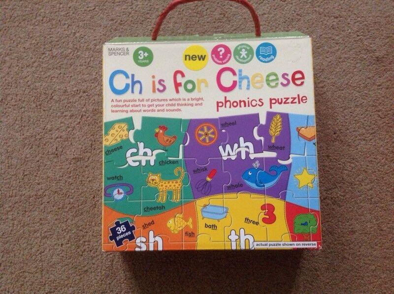 Phonics Jigsaw Puzzle