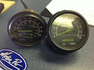 Arctic cat gauges/speedo/tach