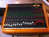 Console Toft Audio Designs ATB Series16 Channel Mixer