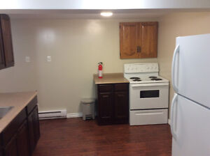 One bedroom basement apartment close to MUN/HSC all inclusive.