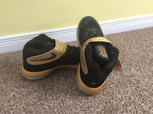 Black and gold game 7 Kyrie 2's