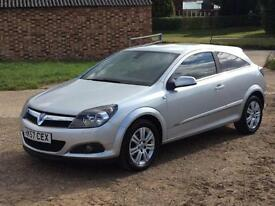2008 Vauxhall Astra Design 1.6 Sports Coupe' 72,000 Mls
