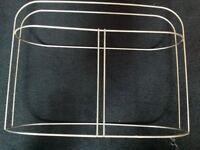 Stainless steel boat fender rack holder