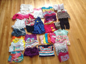 Summer baby girl clothing